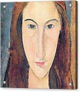 Jeanne Hebuterne Acrylic Print