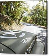 Jeep Willys Acrylic Print