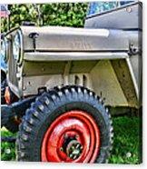 Jeep Willys Ww2 Acrylic Print