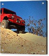 Jeepin' The Mojave Acrylic Print