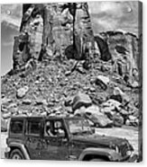 Jeep...it's A State Of Mind Acrylic Print