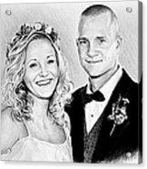 Jeff And Anna Acrylic Print
