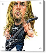 Jeff Hanneman Acrylic Print by Art