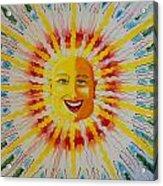 Jeffer Sun Acrylic Print