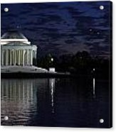 Jefferson At Dusk0253 Acrylic Print