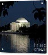 Jefferson At Night Acrylic Print