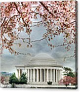 Jefferson Blossoms Acrylic Print by Lori Deiter
