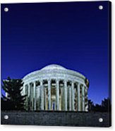 Jefferson In The Morning Acrylic Print by Metro DC Photography