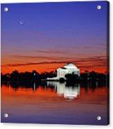 Jefferson Memorial At Dawn Acrylic Print