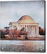 Jefferson Memorial In Dc Acrylic Print