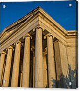 Jefferson Memorial Oblique Acrylic Print