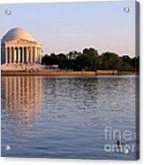 Jefferson Memorial Acrylic Print