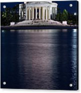 Jefferson Memorial Washington D C Acrylic Print by Steve Gadomski