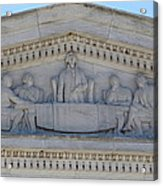 Jefferson Memorial - Washington Dc - 01133 Acrylic Print