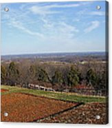 Jefferson's View From Monticello Acrylic Print