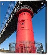 Jeffrey's Hook Lighthouse I Acrylic Print