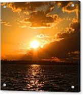 Jekyll Sunset Acrylic Print