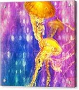 Jelly Fish Dance Acrylic Print