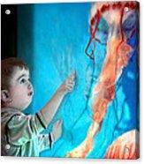 Jellyfish Boy Acrylic Print