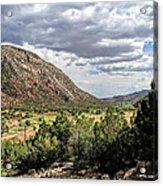 Jemez Mountain Valley Acrylic Print