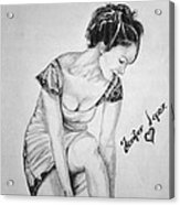 Jeniffer Lopez Acrylic Print