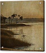 Jenkins Creek Dawn Acrylic Print by Terry Rowe