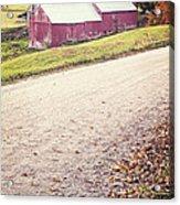 Jenne Farm Vermont Acrylic Print