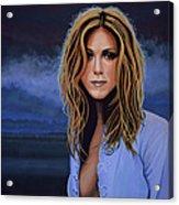 Jennifer Aniston Painting Acrylic Print