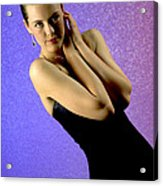 Jennifer Formal Lbd Acrylic Print