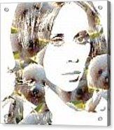Jennifer Love Hewitt Acrylic Print