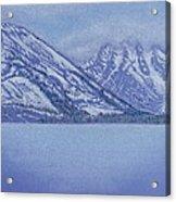 Jenny Lake - Grand Tetons Acrylic Print