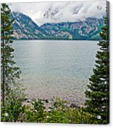 Jenny Lake In Grand Tetons National Park-wyoming  Acrylic Print
