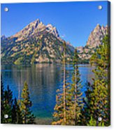 Jenny Lake Overlook Acrylic Print