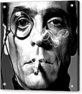 Jeremy Irons Portrait Acrylic Print