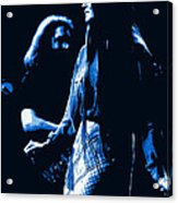 Jerry And Donna Blues 1978 Acrylic Print