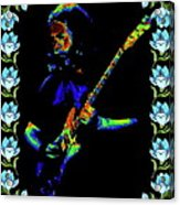 Jerry And The Flowers 2 Acrylic Print