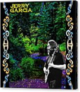 Jerry At Psychedelic Creek Acrylic Print