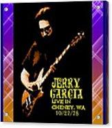 Jerry Cheney 1 Acrylic Print