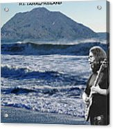 Jerry Garcia At Mt Tamalpaisland 2 Acrylic Print
