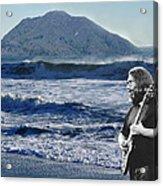 Jerry Garcia At Mt Tamalpaisland 3 Acrylic Print