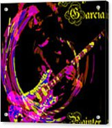 Jerry Garcia Painter Of Masterpieces Acrylic Print