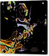 Jerry Gets Psychedelic At Winterland Acrylic Print