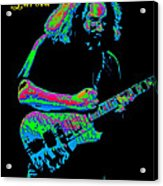 Jerry In Cheney On A Cosmic Day In 1978 Acrylic Print