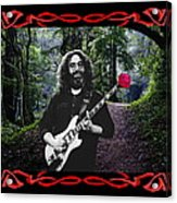 Jerry Road Rose 2 Acrylic Print