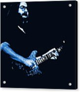 Jerry Sings The Blues 1978 Acrylic Print
