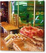 Jerusalem Marketplace Acrylic Print