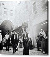 Old City Of Jerusalem Acrylic Print