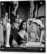 Jesus And Mary At The Curio Shop Acrylic Print