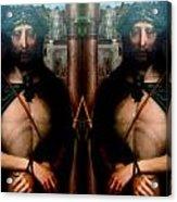 Jesus At The Met Acrylic Print