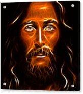 Brilliant Jesus Christ Portrait Acrylic Print
